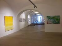 Galerieräume hinten und vorne