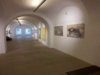 Galerieräume vorne und hinten